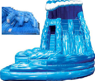 18' Monster Wave Dual Lane Water Slide Rental in VA, DC, MD  in VA, DC, MD