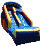 20' Rainbow Water Slide Rental