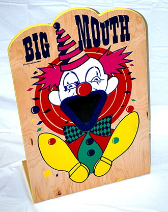 Big Mouth Toss Carnival Game Rental
