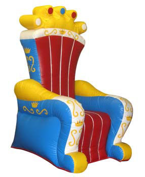 Inflatable Birthday Throne Rental