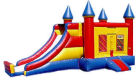 Slide & Castle Combo #1 Rental