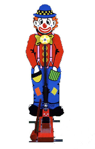 Kiddie Clown Striker Rental