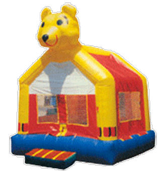 15' x 15' Honey Bear Deluxe MoonBounce Rental