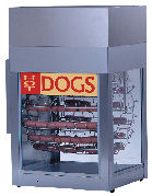Hot Dog Rotisserie w/ Bun Steamer Rental