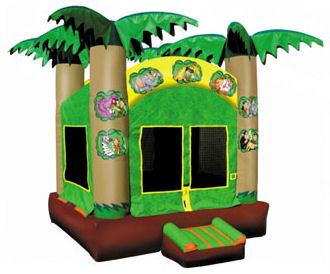 15' x 15' Jungle Adventure Deluxe MoonBounce Rental