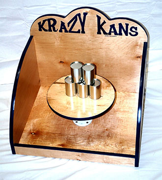 Krazy Kans Carnival Game Rental