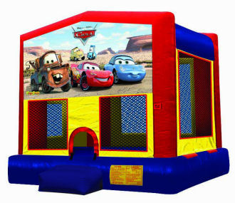 15' x 15' Cars Deluxe MoonBounce Rental