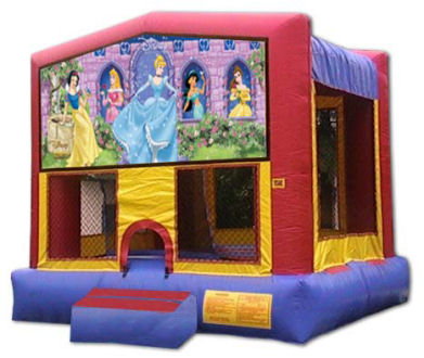 15' x 15' Disney Princess Modular MoonBounce, Bounce House or Moonwalk Rental