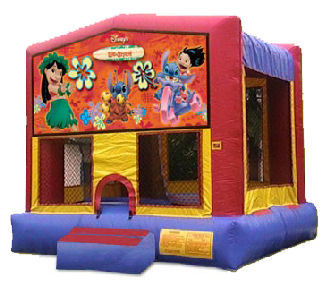 15' x 15' Lilo and Stitch Deluxe MoonBounce Rental