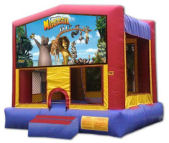 15' x 15' Madagascar Deluxe MoonBounce Rental
