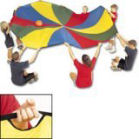 12' Diameter Parachute Kit w/ 6 Balls Rental