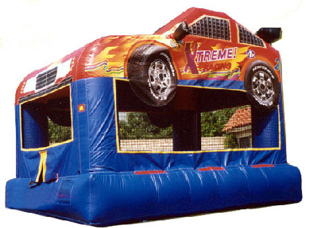 15' x 12' Speed Racer Premium MoonBounce Rental