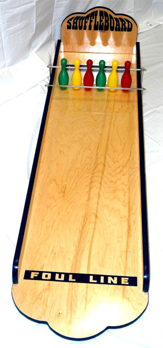 Shuffleboard Carnival Game Rental