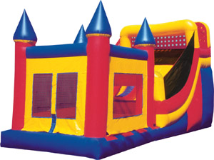 16' High Slide and Castle Combo #2 Rental