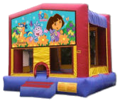 15' x 15' Dora The Explorer Deluxe MoonBounce Rental
