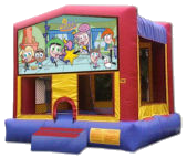 15' x 15' Fairly Odd Parents Deluxe MoonBounce Rental