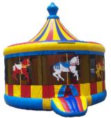 16' x 16' Carousel Premium MoonBounce Rental