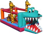 13' x 10' Alligator Toddler MoonBounce Rental