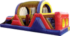 30' Backyard Obstacle Course Rental