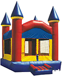 15' Castle Fun House Moonbounce Rental