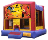 15' x 15' The Incredibles Deluxe MoonBounce Rental
