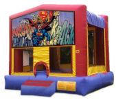 Superman  MoonBounce Rental