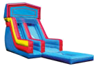 18' Modular Water Slide with Pool Rental