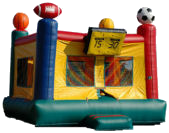 15' Sports Arena Deluxe MoonBounce Rental