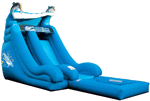 18' Dolphin Super Splash Down Water Slide w/Pool Rental